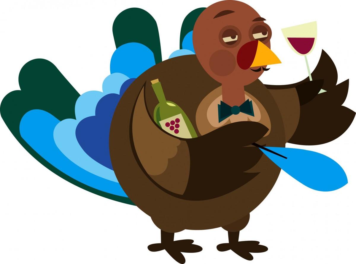 thanksgiving turkey line drawing