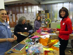 Workshop at Society for Contemporary Crafts, 1