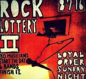 rock lottery